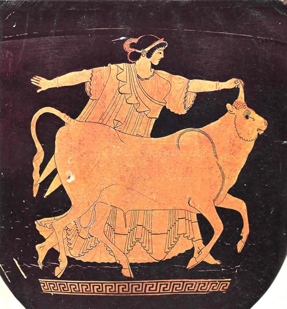 древнегреческие рисунки на стенах много раз
