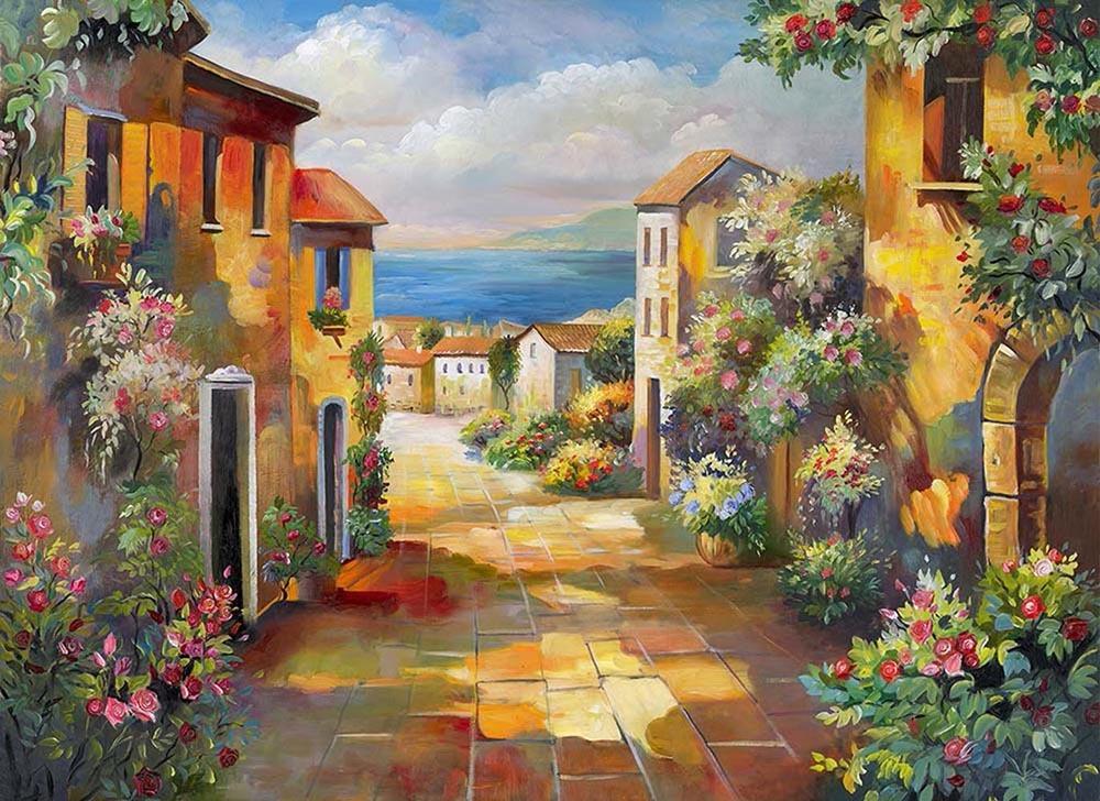 постер картины итальянские пейзажи касается сборов