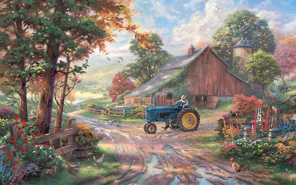 Картинки ретро пейзаж