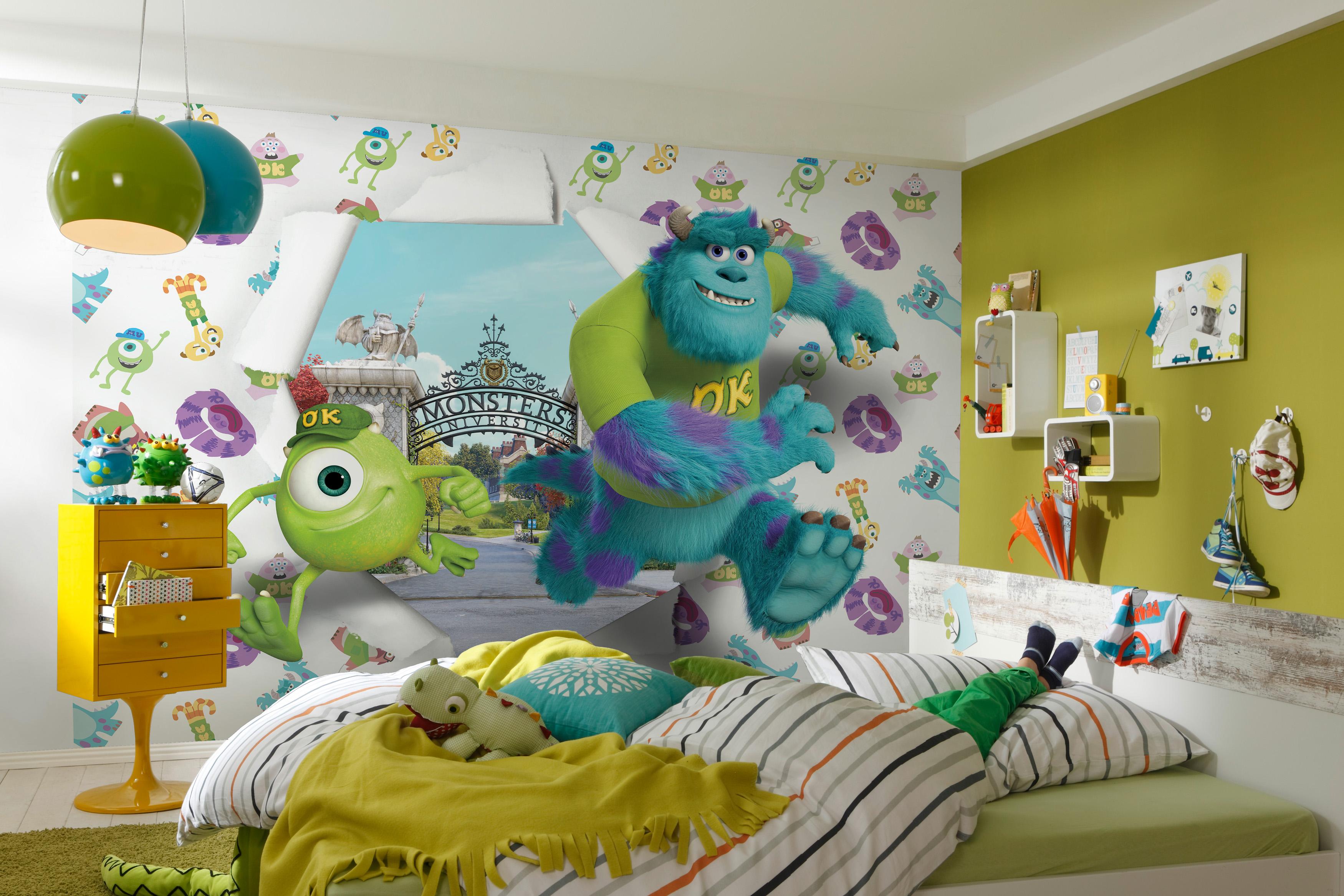 фотообои в оформлении детской комнаты