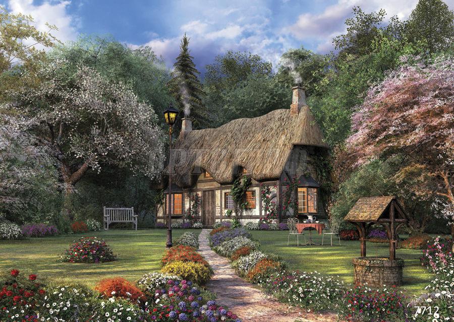 Сказочный уютный домик картинки